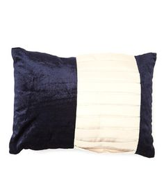 This chic decorative pillow offers an easy way to liven up home décor. Featuring luxuriously soft velvet fabric and a pleated sateen panel, this piece makes a perfect addition to any furniture set or bedroom. Elegant Bedroom Design, Furniture Sets, Decorative Pillows, Throw Pillows, Fabric, Blues, Velvet, Chic, Easy