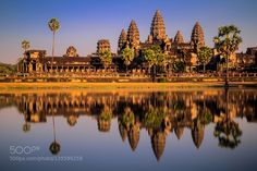 Popular on 500px : Golden Angkor Wat by SunnyXplorer