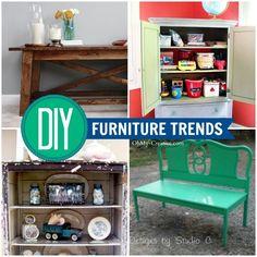 DIY Furniture Trends - OhMy-Creative.com