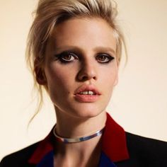 """""""Ms. @Lara_Stone means business in the latest issue of Sunday Times Style. # #IMGwomen 