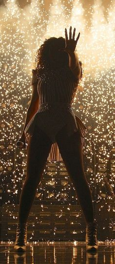 Beyoncé Mrs Carter Show World Tour End Of Time 2013 .If You've Seen Beyoncé Perform This In Mrs Carter Show You'll Know How Fantastic This Photo Is , With The Effects Turning The Stage Into Amazing Firewall So Glad I'm Getting A Second Chance To Go & See Mrs Carter Show March 4 2014 .Cannot Wait