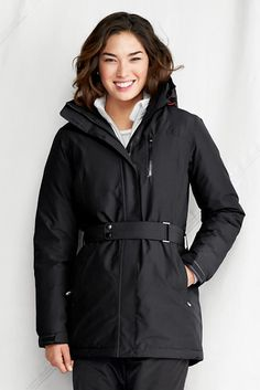 Women's Waterproof Down Parka from Lands' End (this is crazy)