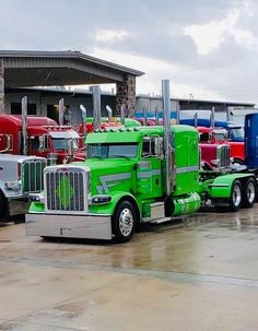 Big Rig Trucks, Semi Trucks, Cool Trucks, Peterbilt 389, Peterbilt Trucks, Custom Big Rigs, Custom Trucks, Diesel Pickup Trucks, Hot Rides
