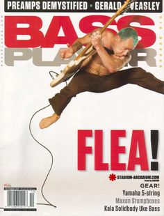 Flea in Bass Player Magazine, October 2011