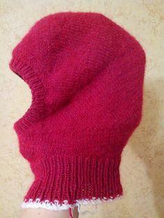 Зимняя шапка нелинейной наружности: ru_knitting