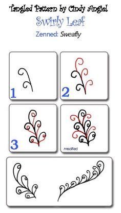 Pattern: Swirly Leaf