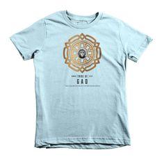 Gad (B) Short Sleeve Kids T-Shirt