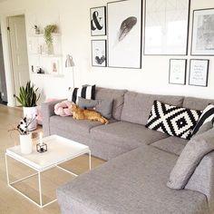 Der er nogen i dette hus, der ved, hvordan man slapper af.  Jeg synes godt nok, de katte bruger sofaen mest.  ------------------------------------------ #myhome #haytray #haytraytable #desenio #lyngbyvase #lyngbyporcelæn #ikea #interior #interior444 #interior2all #interior2you #interior4all #interior4you #interiorwarrior #ninterior #hltips #hus10a #home #homedecor #homeinspo #mainecoon