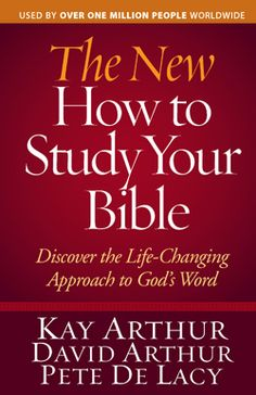 Great way to learn the inductive Bible study method.  http://store.precept.org/p-1256-the-new-how-to-study-your-bible-discover-the-life-changing-approach-to-gods-word.aspx#