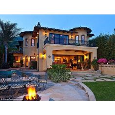 Everybody Loves Raymond jolly giant Brad Garrett puts Malibu mansion... ❤ liked on Polyvore
