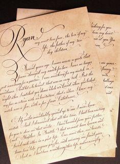 Letras Cursivas  Calligraphy    Calligraphy Fonts And