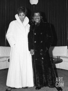 Altovise Davis and Sammy Davis Jr.