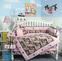 SOHO Girl Camo Baby Crib Nursery Bedding Set 13 pcs included Diaper Bag with Changing Pad & Bottle Case by SoHo Designs   10 Piece Set Includes:(1)Crib Quilt ,(1)Crib Bumper;;(1)Fitted Sheet,(1)Crib Skirt (Dust Read  more http://shopkids.ca/soho-girl-camo-baby-crib-nursery-bedding-set-13-pcs-included-diaper-bag-with-changing-pad-bottle-case-by-soho-designs/