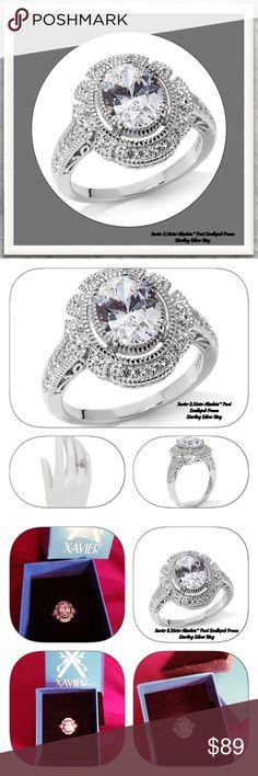 Selling this 💍Nib/Xavier 2.31ct Abslte Pavé Scallop FrmSS Ring on Poshmark! My username is: toryshop. #shopmycloset #poshmark #fashion #shopping #style #forsale #Xavier #Jewelry