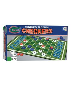 Masterpieces Florida Gators Checkers Game Set   zulily