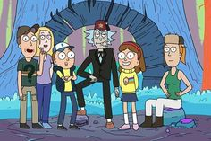 Rick and Morty in gravity falls :3 - - - IM NOT SURE HOW I FEEL ABOUT THIS... - - -