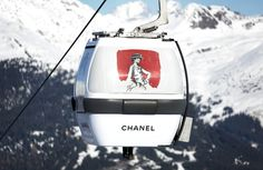 Chanel opens a pop up store in Courchevel. #Mountains #Retail #PopUp