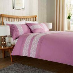Bibury Duvet Quilt Bedding Set | Mauve – Linens Range