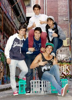 Click here for 5 Facts About The Janoskians!