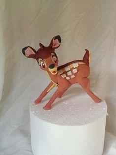 Bambi cake topper