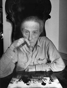Ugo Mulas, Marcel Duchamp in New York, 1964-65. Herederos de Ugo Mulas. © Archivio Ugo Mulas.