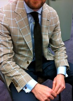The blazer 👍 Sharp Dressed Man, Well Dressed Men, Classic Men, Classic Style, Revival Clothing, Men's Clothing, Blazers, Gentleman Style, Southern Gentleman