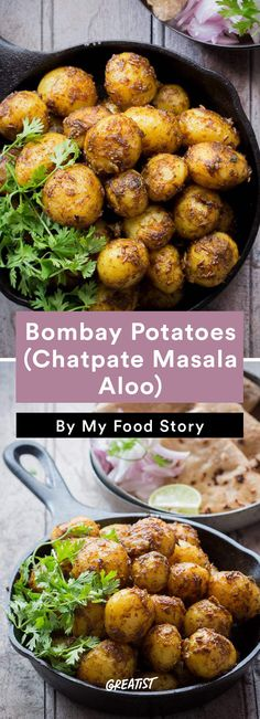 8. Bombay Potatoes (Chatpate Masala Aloo)  #healthy #indian #food http://greatist.com/eat/indian-recipes-that-are-easy-to-make-at-home
