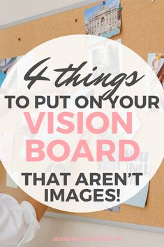 4 DIY Ideas To Put On Your Vision Board (That Aren't Images!) These creative vision board DIY ideas are great for your vision board! Get inspiration on how to get creative with your vision board and goal setting in a way that doesn't just involve images or pictures! These 4 DIY examples will show you how to make a vision board that truly makes you happy! Pinterest Vision Board, Free Inspirational Quotes, Daily Positive Affirmations, Creating A Vision Board, Self Development, Personal Development, Affirmation Cards, Favorite Words, Love Your Life