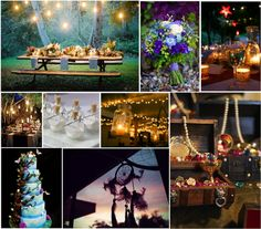 A Neverland Wedding | Simply Inspirational. I would never go that far out but dang wow yessss