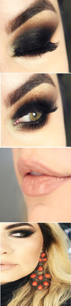 Sexy Smokey Cat Eyes Makeup Tutorials