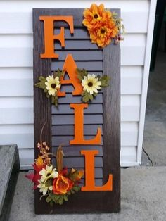 26 Favorite DIY Fall Decorating Ideas * in the pays-des-fleu . - 26 Favorite DIY Fall Decorating Ideas * the country-of-fleu … - Diy Home Decor Rustic, Fall Home Decor, Autumn Home, Diy Autumn, Front Porch Fall Decor, Fall Decor Outdoor, Fall Porch Decorations, Thanksgiving Decorations Outdoor, Fall Harvest Decorations