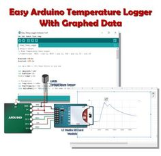 Basic Temperature Logger with a Graph One of the strengths of using an SD Card is that you are able to record information (or measurements) gathered by your Arduino and later export to documents or…
