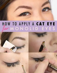How to Apply Cat Eye for Monolid Eyes