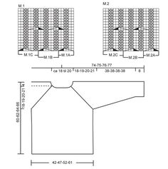 """DROPS Trui met kabelpatroon en raglanmouwen van """"Eskimo"""". Maat S t/m XL. ~ DROPS Design"""