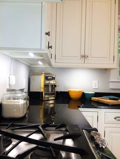Blackdecker led under cabinet lighting kit 9 warm white ideas cool white under cabinet lights against a black counter top love how thin the led aloadofball Image collections