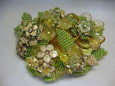 Stanley-Hagler-NYC-Large-Hand-Made-Floral-Pin-Brooch-1970-Filligree-Back