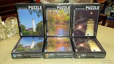 #puzzles My puzzles are ready.Take advantage of the introductory price at https://www.facebook.com/LighthouseGalleryandGifts