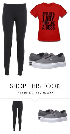 """""""Untitled #77"""" by chiquinha0 ❤ liked on Polyvore featuring Vans"""