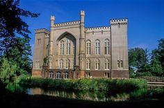 Castel in Kórnik, Poland