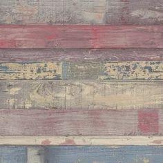 "Williston Forge Mullaney Brick 33' L x 20.5"" W Wallpaper Roll | Wayfair Wood Plank Wallpaper, Wallpaper Panels, Wallpaper Samples, Wallpaper Roll, Peel And Stick Wallpaper, Raw Wood, Rustic Wood, Peelable Wallpaper, Painting Shiplap"
