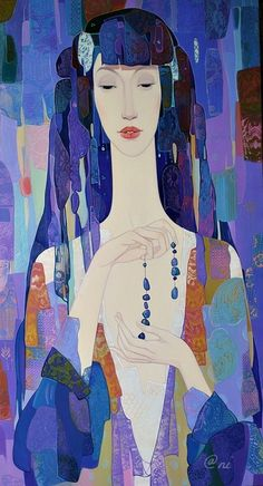The Bead by Maia Ramishvilli (b1969; Tbilisi, Georgia) aka Maia Ramish