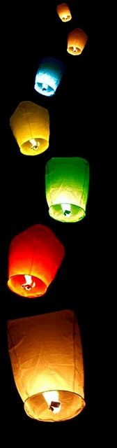 SkyLanterns  This goes to everyone that I loved so dearly...Mom/Oma,Aunt Pat,Uncle Ed,Mom/Grammy Nowlan,Timmy,Dennis,Dave,on June 23 when I use this I will be thinking of you all especially you Mom..xoxo