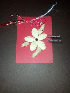 Martisor din seminte Handmade Cards, Craft Cards, Diy Cards, Homemade Cards, Card Making Inspiration, Handmade Crafts, Stamp Sets