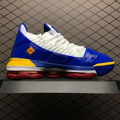 "buy popular aaaf5 a4532 2019 Nike LeBron 16 SB ""SuperBron"" Superman White Red For Sale CD2451-100"