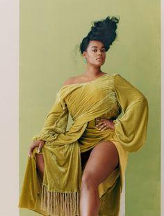 | Precious Lee by Camila Falquez for Allure Magazine... Plus Size Photography, High Fashion Photography, Plus Size Fotografie, Beautiful Black Women, Beautiful People, Plus Size Posing, Amanda, Black Girl Aesthetic, Inspiration Mode