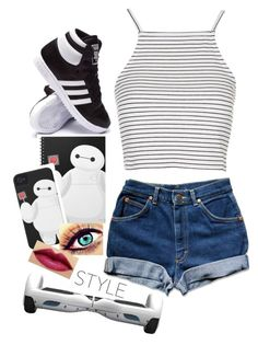 """"" by giuliacarolline ❤ liked on Polyvore featuring Chanel, Topshop, adidas, women's clothing, women's fashion, women, female, woman, misses and juniors"