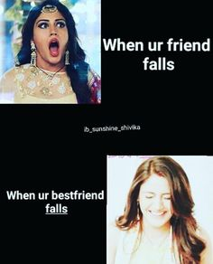 RuQaiya and abdul Bff Quotes Funny, Besties Quotes, Crazy Funny Memes, Girly Quotes, Really Funny Memes, Best Friend Quotes, Jokes Quotes, Sarcastic Quotes, Funny Facts