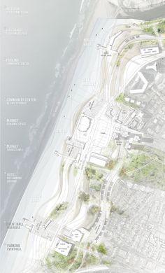 site plan _Dalia Munenzon. BARCH Thesis // Sea Change | SUPER // ARCHITECTS
