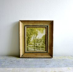 vintage art: My favorite thrift finds are vintage paitings