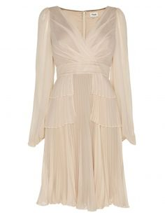 Temperley London Sleeved Serena  Dress